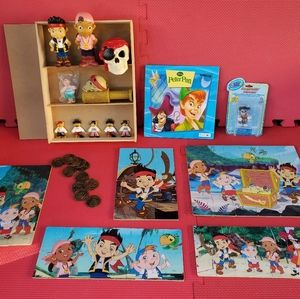 Jake and the Neverland Pirates & Peter Pan lot
